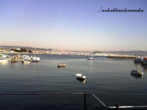 nohablessoloescucha: Paisaje Vigo Mar Vista